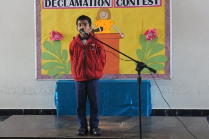 Asian World School-Declamation Contest