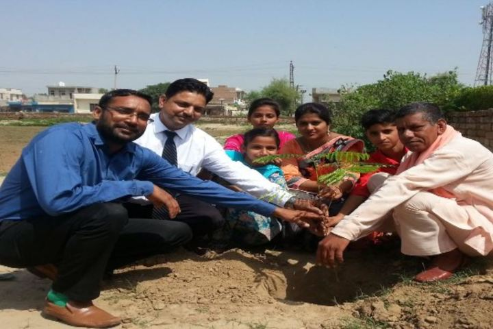 Baba Hardwari Nath Public School-Tree Plantation