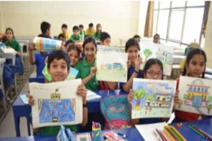 Bansal Public School-Drawing Competetion