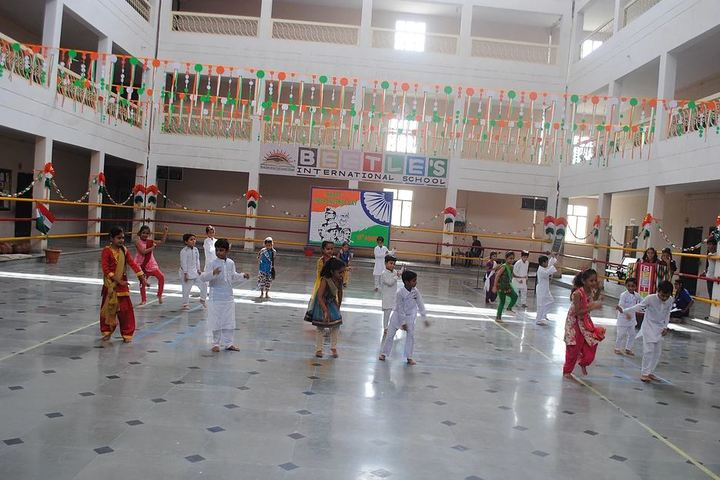 Beetles International School-Independence Day Celebrations