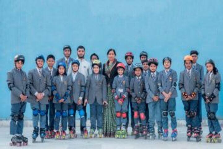 Bhabha Public School-Skating Team