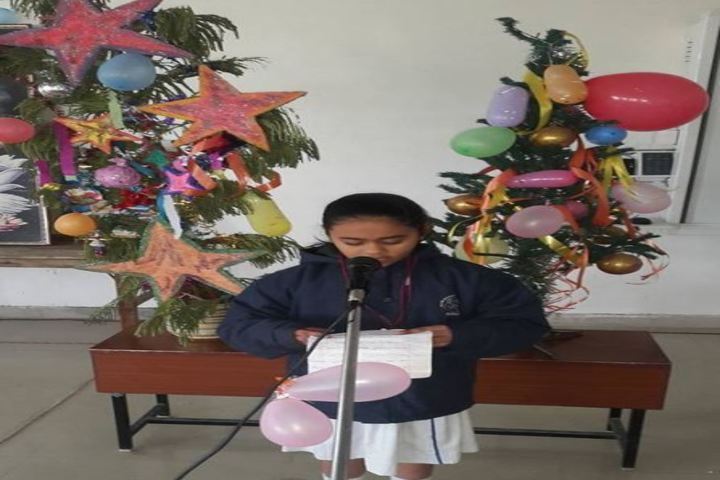 Bhagwan Das Pareek Dream School-Christmas Celebrations