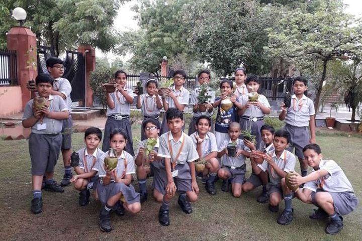 Bharatiya Vidya Bhavan Vidyashram-Tree Plantation