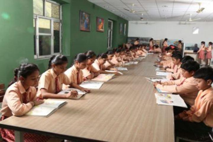 Bihani Childerns Academy-library