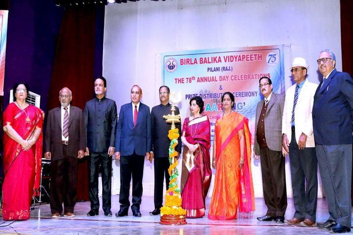 Birla Balika Vidyapeeth-Annual Day Inaguration