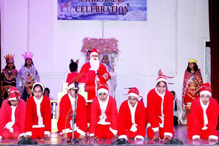 Birla Balika Vidyapeeth-Christams Day Celebrations