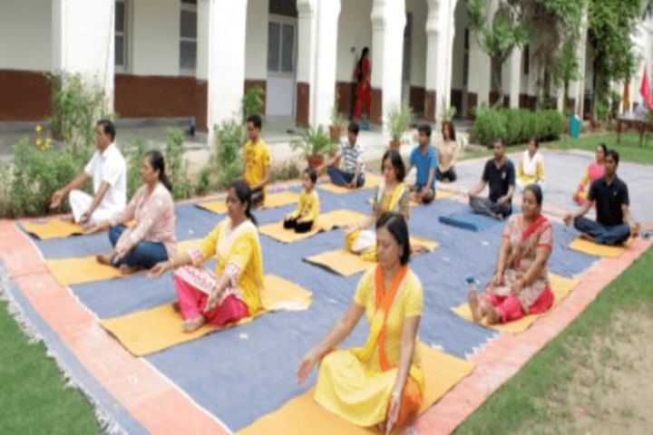 Birla Balika Vidyapeeth-Yoga Day