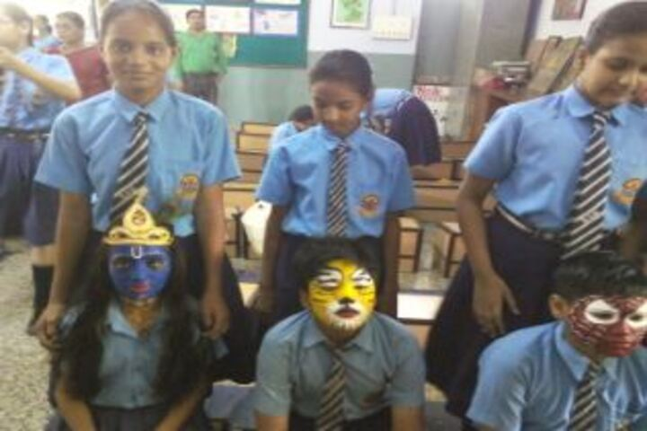 Birla Shiksha Kendra-Face Painting