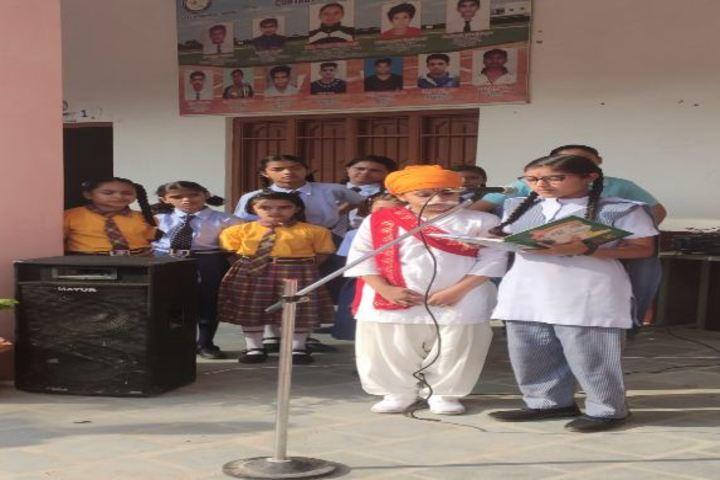 Bright India Public School-Bal Gangadar Tilak Celebrations