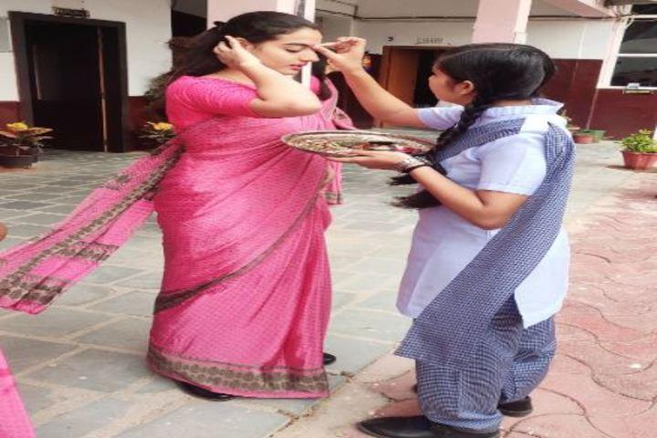 Bright India Public School-Guru Purnima