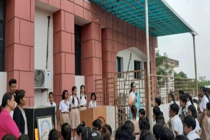 Calorx Public School-Guru Purnima Celebrations