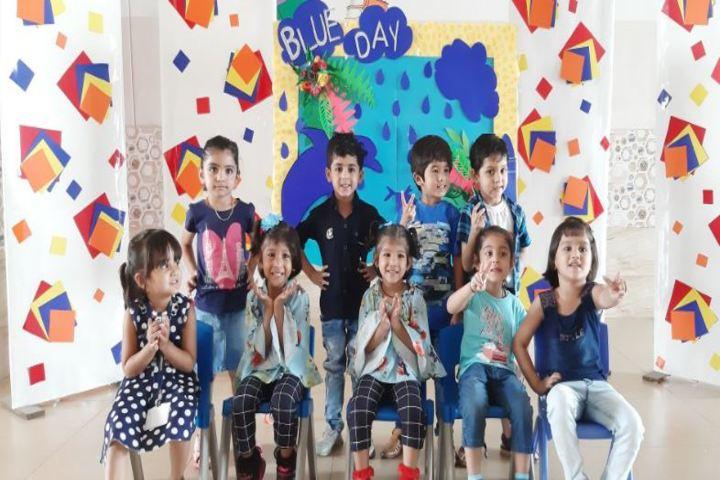 Cambridge Court World School-Blue Day Celebrations