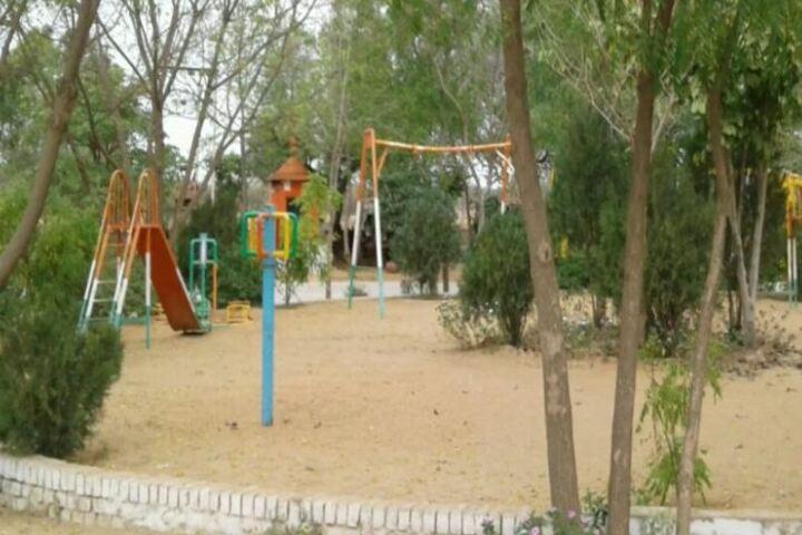 Cambridge Kids Garden Public School-Play Area