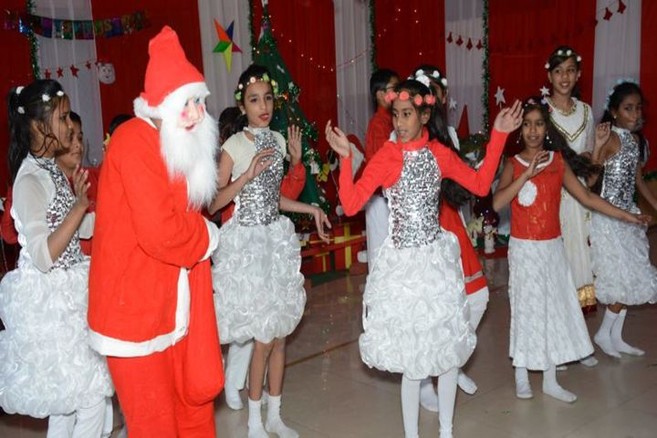 Career Point Gurukul-Christmas Celebrations