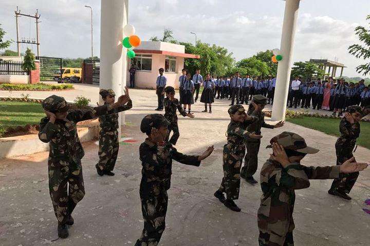 Career Point Gurukul-Independence Day Celebrations