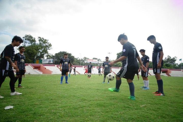 Career Point Gurukul School-Football