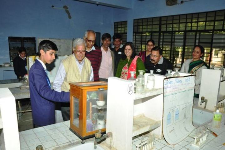 Ceeri Vidya Mandir-Science Exhibition