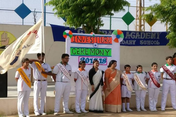 Central Academy-Investiture Ceremony