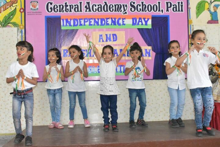 Central Academy School-Independence Day Celebrations