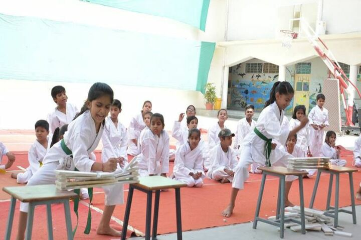 Central Academy School-Karate