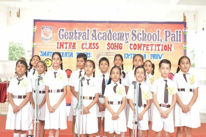 Central Academy School-Singing Competition