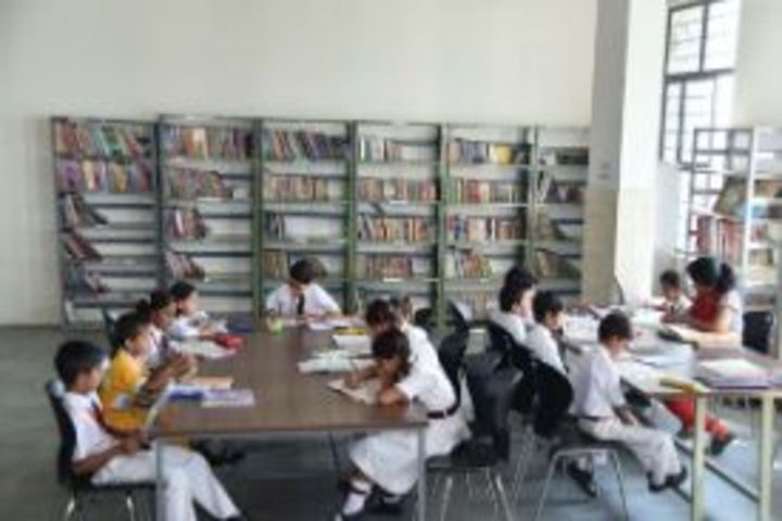 Central Academy Senior Secondary School-Library