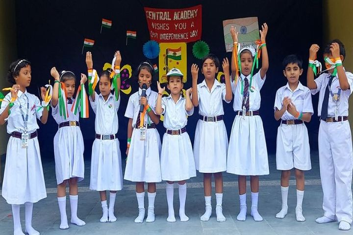 Central Academy Sr Sec School-Singing