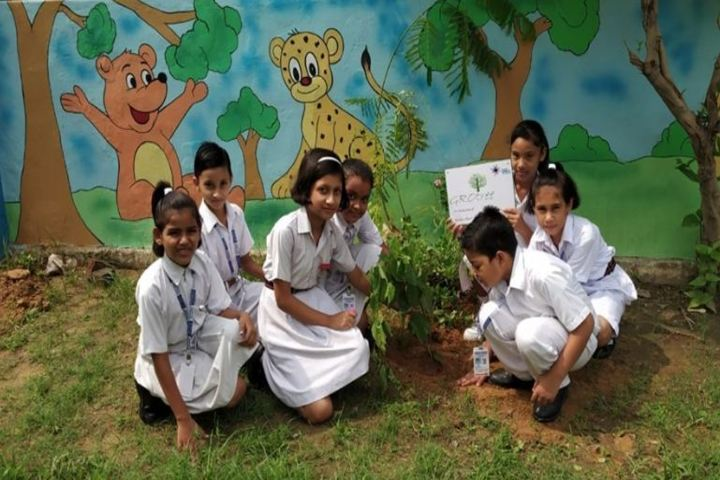 Central Academy Sr Sec School-Tree Plantation