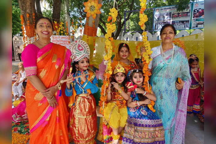 Fancy Dress Activity on Janmastami