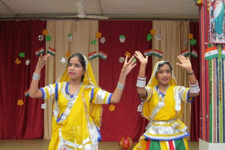 Central Academy Senior Secondary School-Cultural Dance