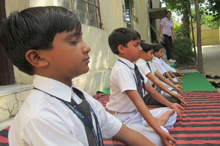 Central Academy Senior Secondary School-Meditation