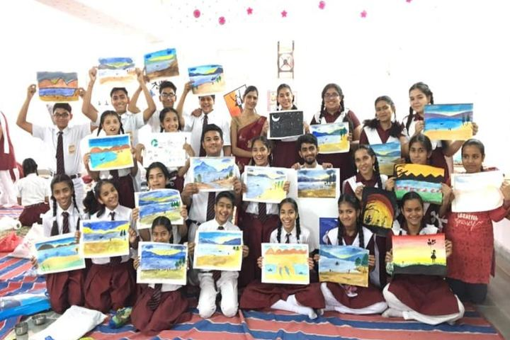 Central Acadmey Senior Secondary School-Drawing and Painting