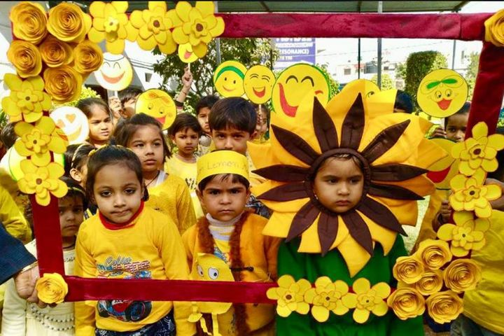 Central Public Senior Secondary School-Yellow Day Celebrations