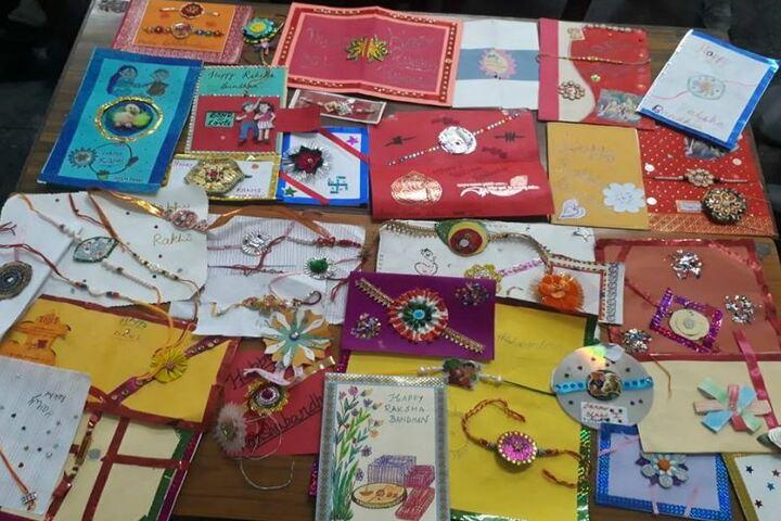 Chambal Fertilisers Dav Public School-Card Making