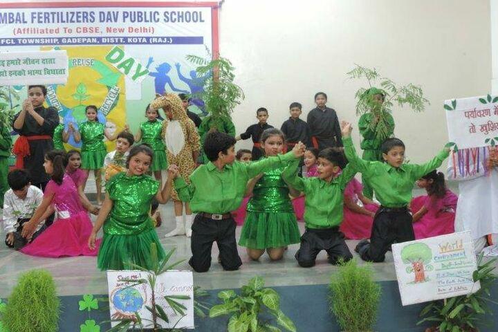 Chambal Fertilisers Dav Public School-Green Day