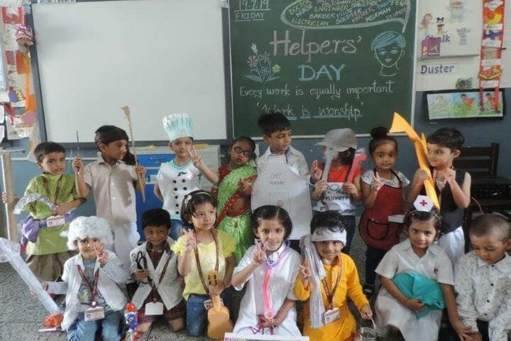 Chambal Fertilisers Dav Public School-Helpers Day