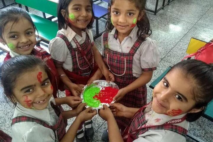 Chambal Fertilisers Dav Public School-Holi Celebrations