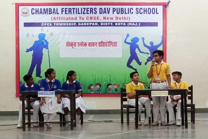 Chambal Fertilisers Dav Public School-Quizz