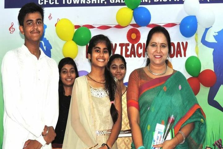 Chambal Fertilisers Dav Public School-Teachers Day Celebrations