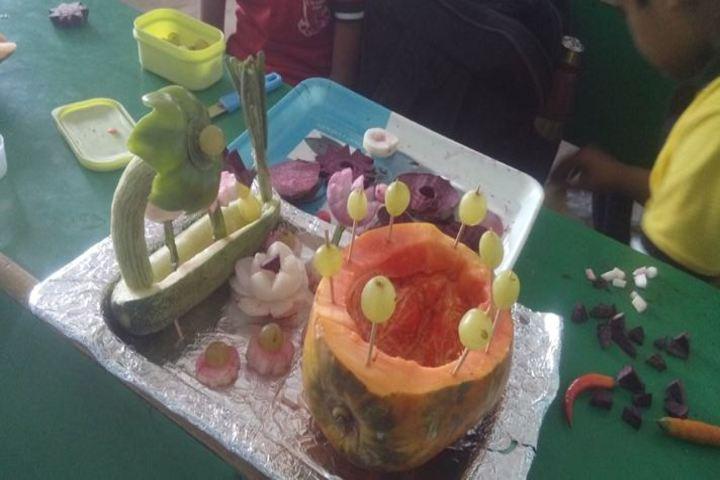 CGI World School-Vegetable Crafting