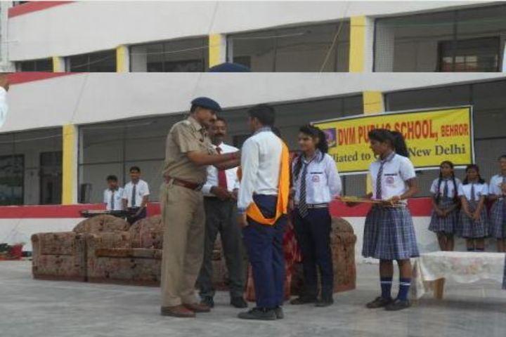 D V M Public School-Investiture Ceremony