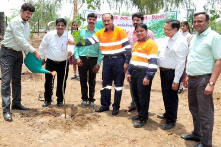 D.A.V. Hzl Senior Secondary School-Tree Plantation