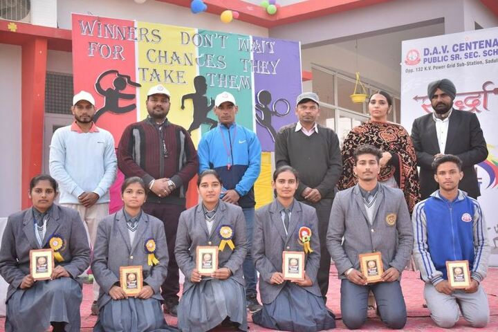 Dav Centenary Public School-Annual Sports Winners