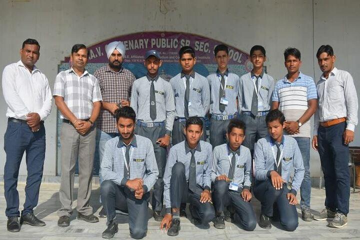 Dav Centenary Public School-Scouts Games