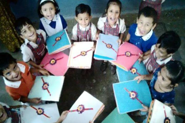 DAV Kalisindh Thermal Public School-Card making Competetion