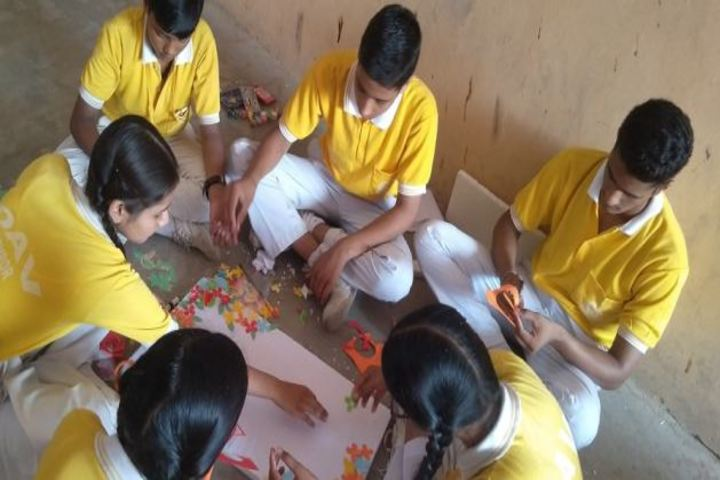 Dav Public School-Art and craft