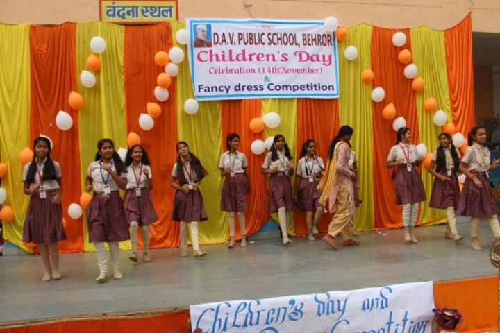 Dav Public School-Childrens Day