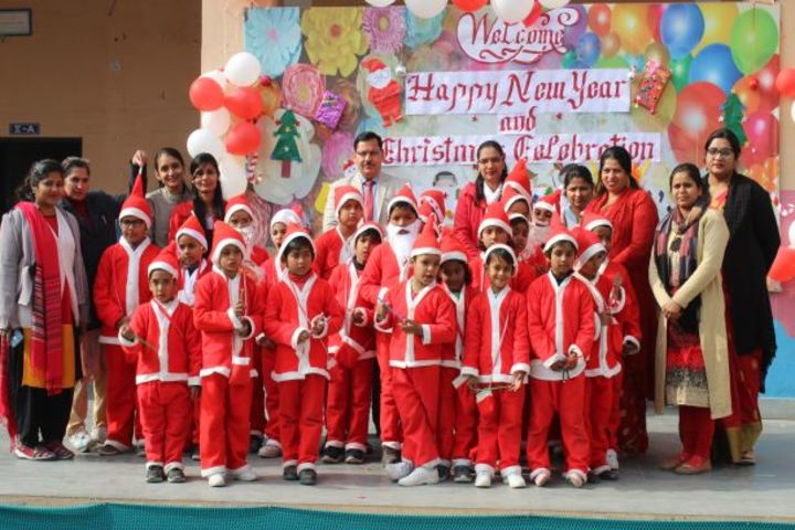 Dav Public School-Christmas Calebrations