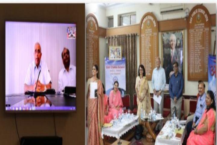 Dav Public School-LMC Video Conference
