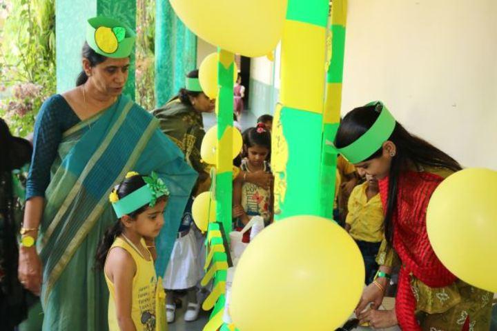 Dav Public School-Lemon Day Celebration